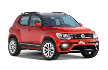 ¿Se viene el SUV del Volkswagen up!?