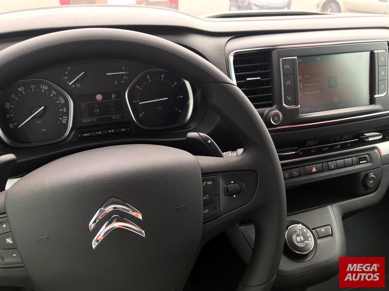 Interior Citroën Spacetourer