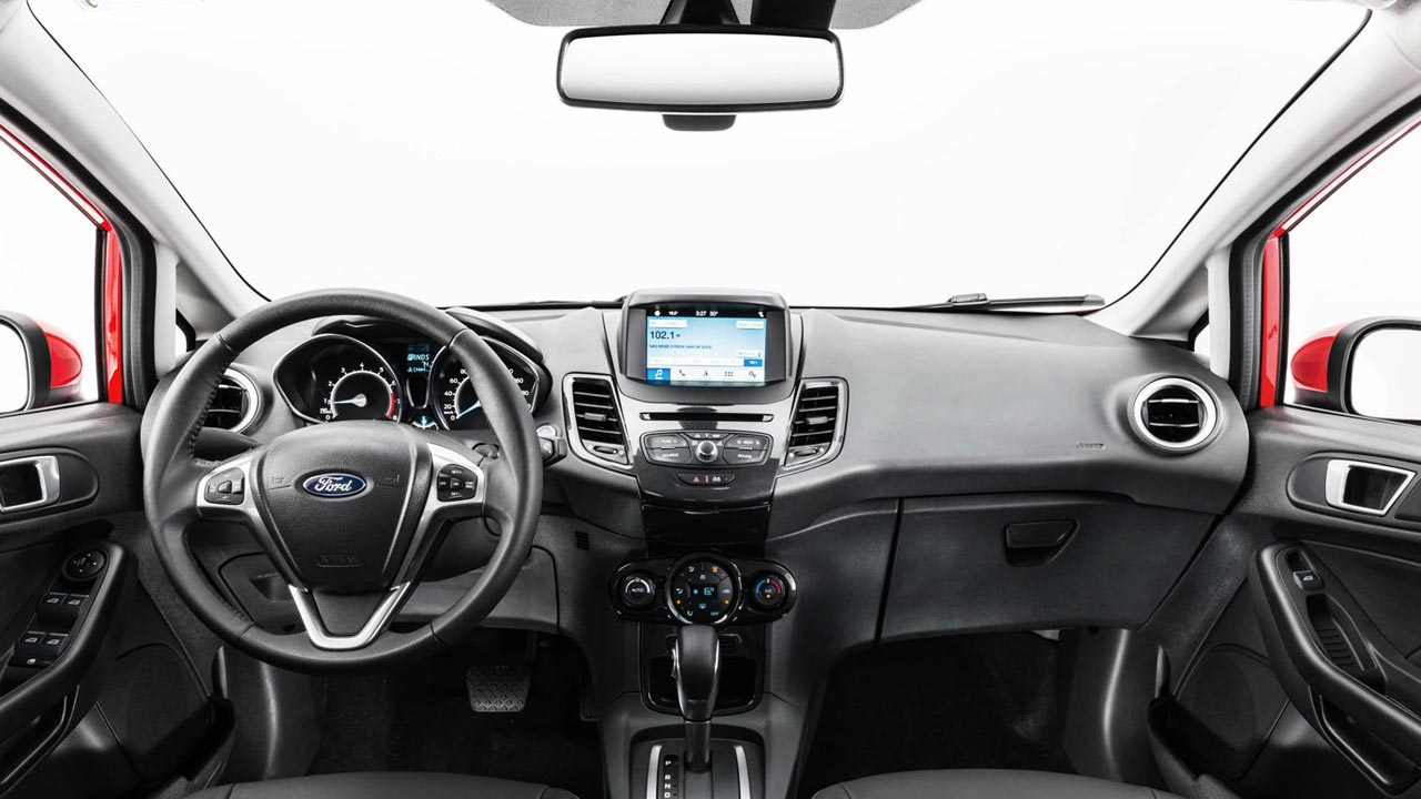 Interior Ford Fiesta 2018 Brasil