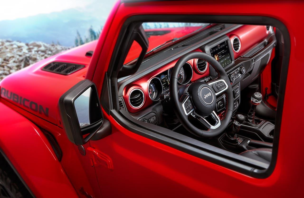 Nuevo Jeep Wrangler: ahora se conoce el interior