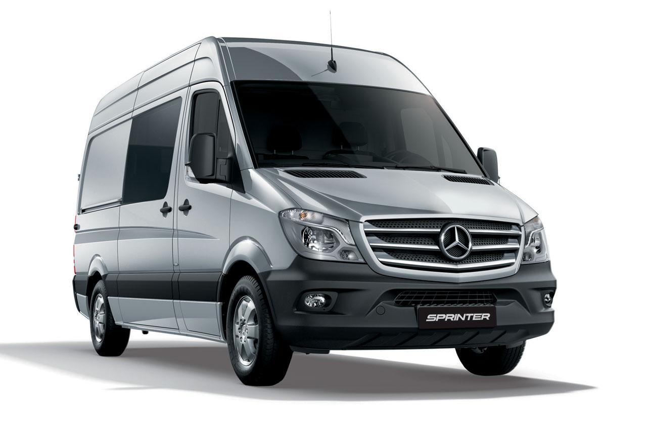 Llegó la Mercedes-Benz Sprinter Silver Edition