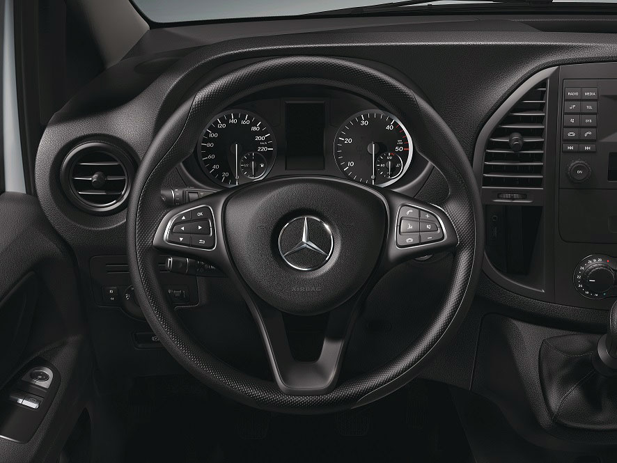 Interior Mercedes-Benz Vito Plus