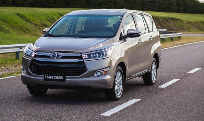 Llegó la Innova, el familiar de Toyota