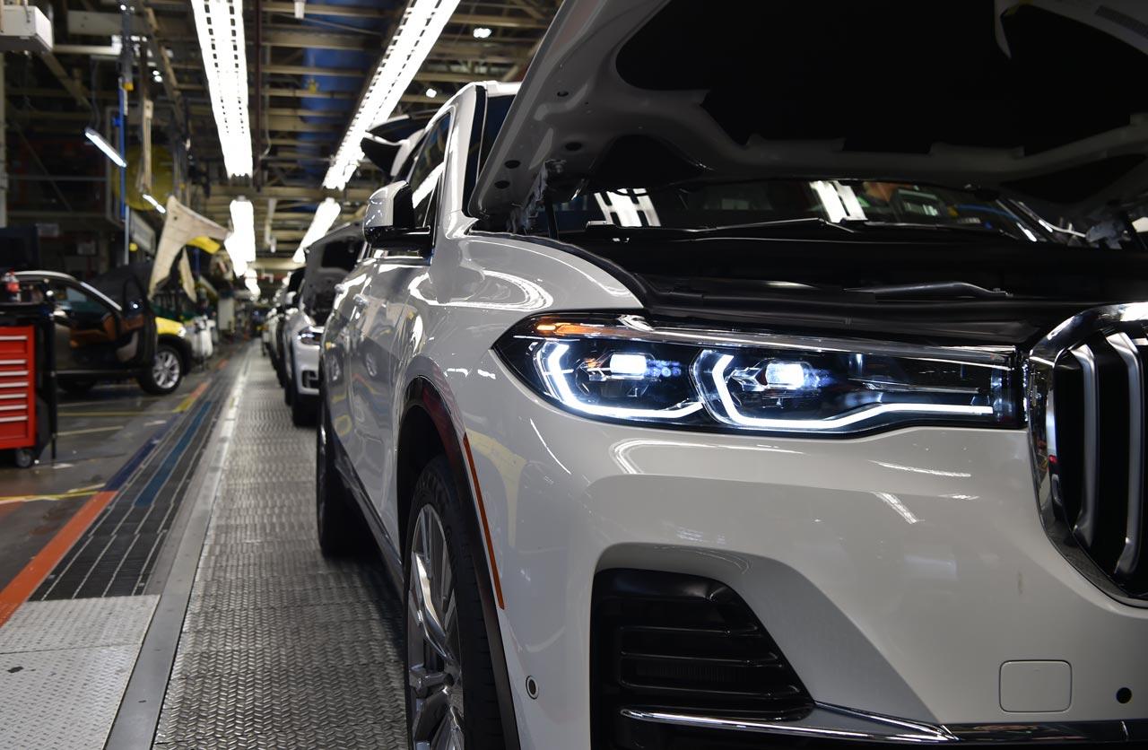 BMW comenzó a mostrar el inédito X7