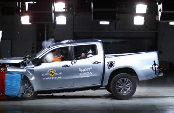 Mercedes-Benz Clase X, exitosa en el Euro NCAP