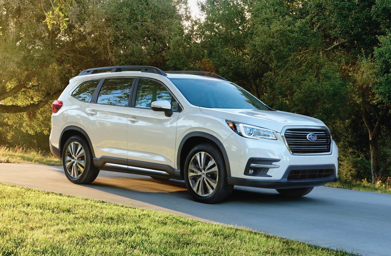 Subaru presentó el Ascent, un nuevo SUV con ocho plazas