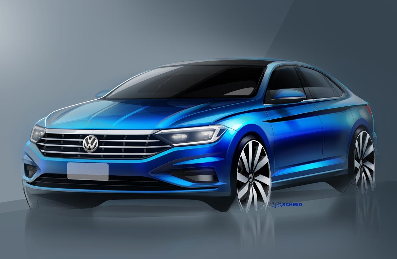 Se viene la nueva generación del Volkswagen Vento