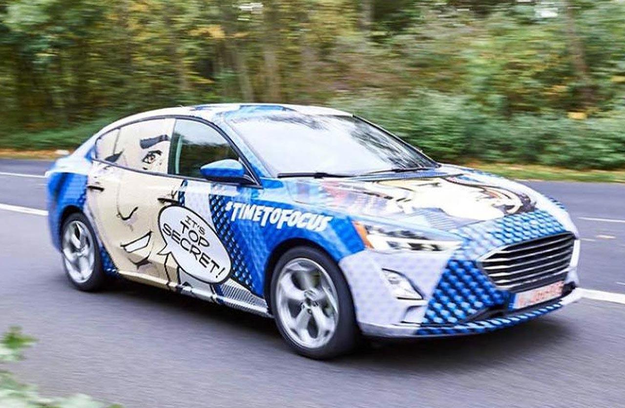 El próximo Ford Focus, ahora con carrocería sedán