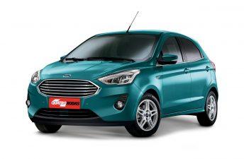 Los cambios del Ford Ka, descubiertos en Brasil