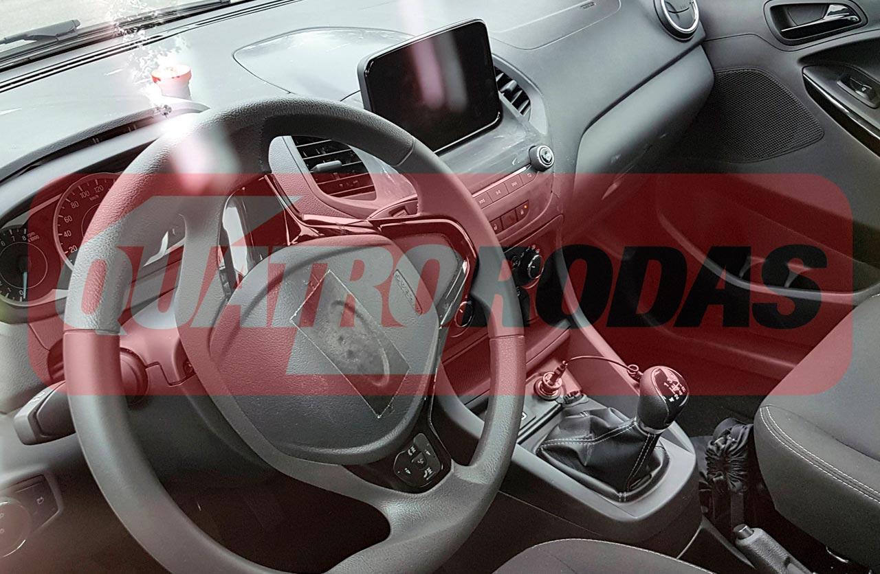 Interior Ford Ka 2018