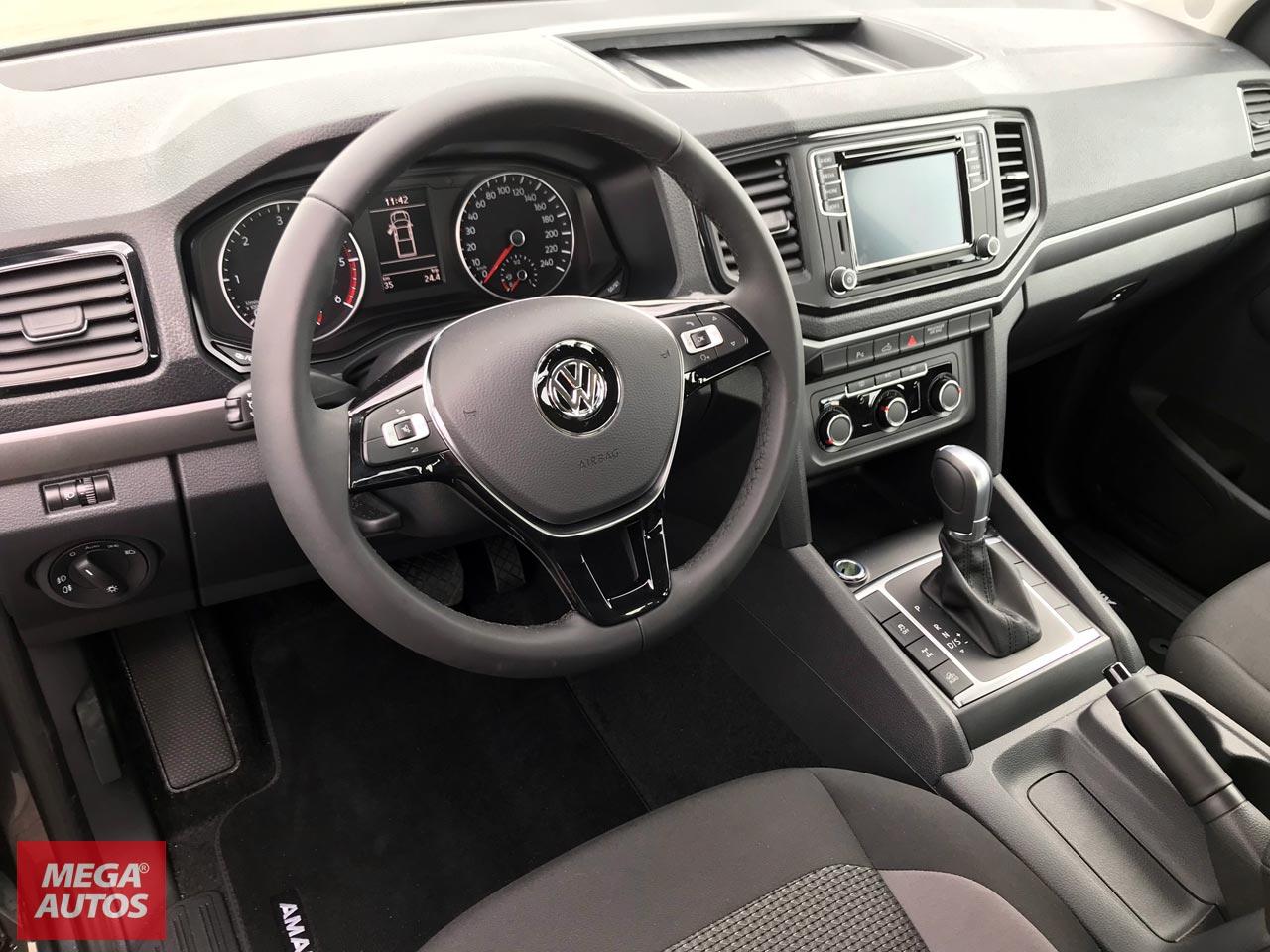 Interior Volkswagen Amarok V6 Comfortline
