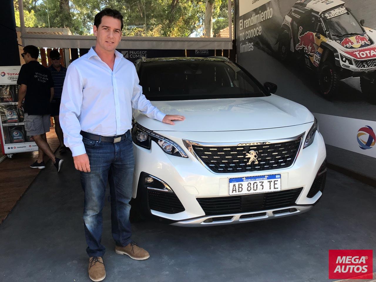 Augusto Robert, Zonal de Postventa de Peugeot Argentina.