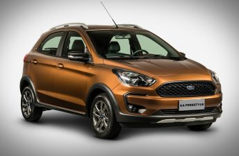 Ford presentó el Ka Freestyle, con estilo aventurero