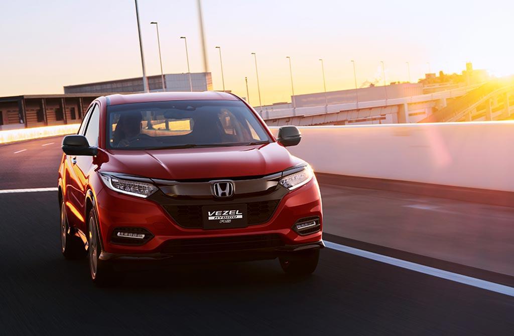 Así es el restyling de la Honda HR-V
