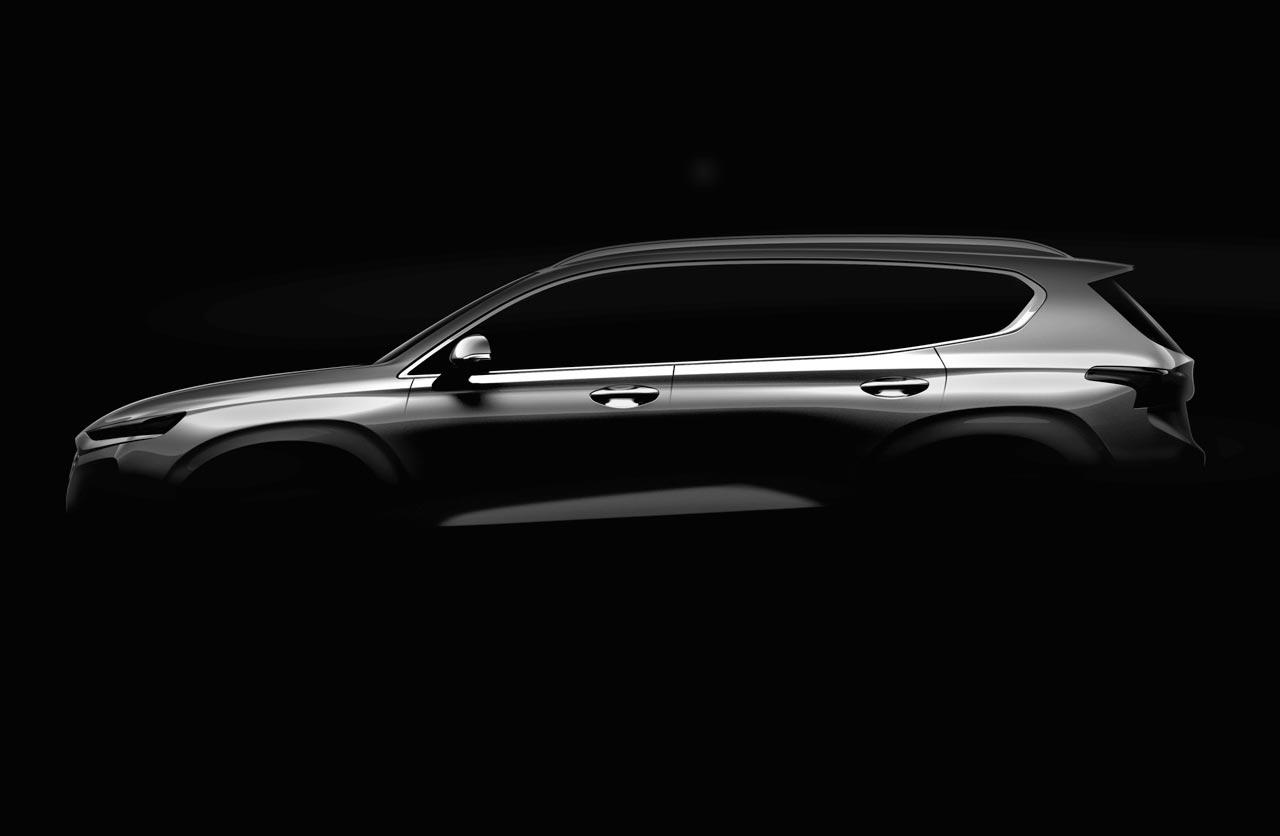Se viene la nueva generación de la Hyundai Santa Fe