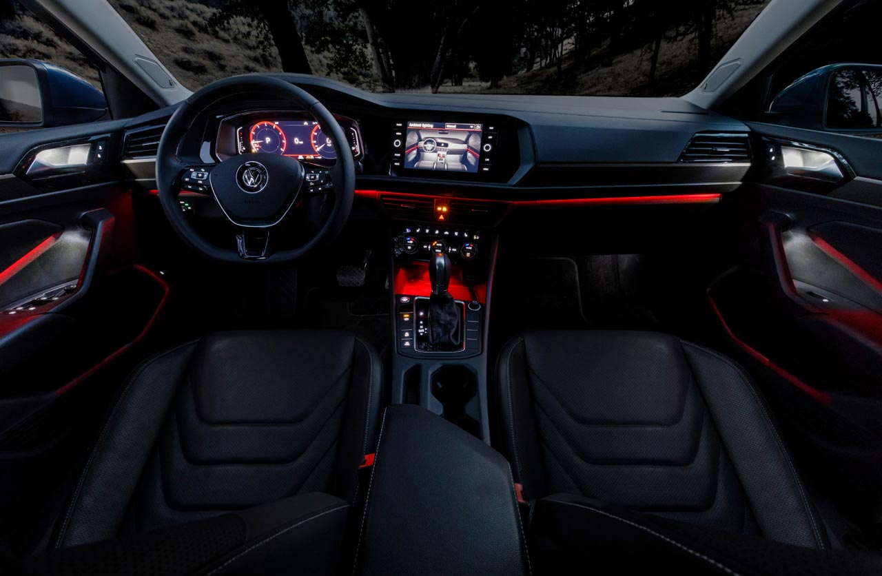 Interior Volkswagen Vento 2019