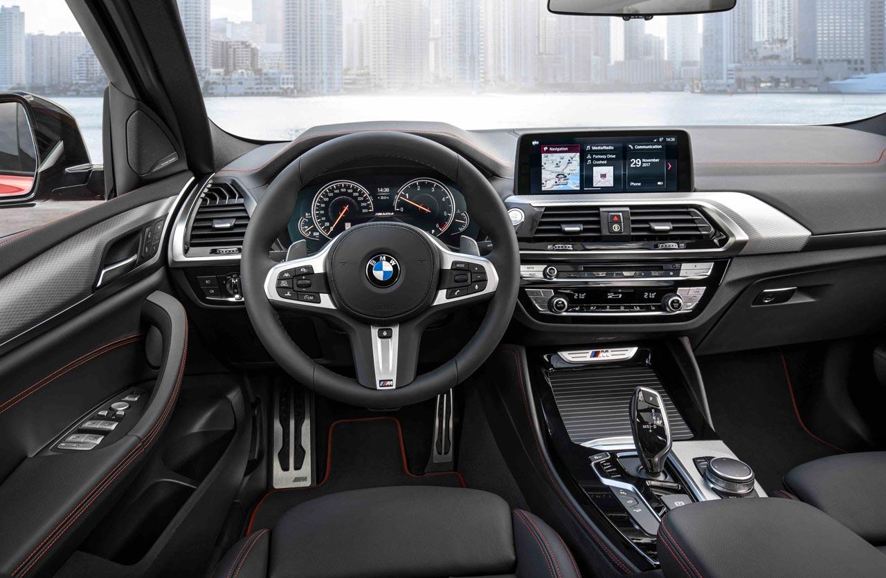 Interior BMW X4