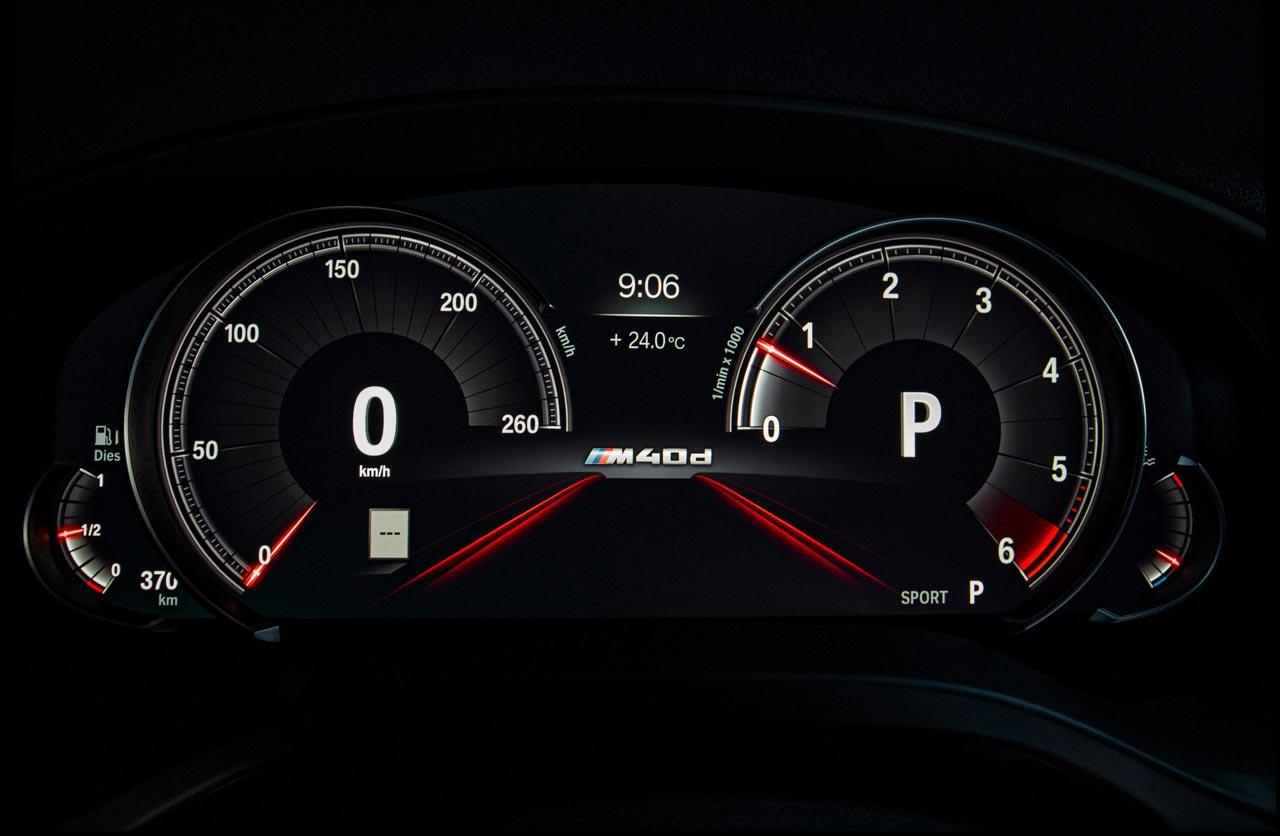 Tablero BMW X4