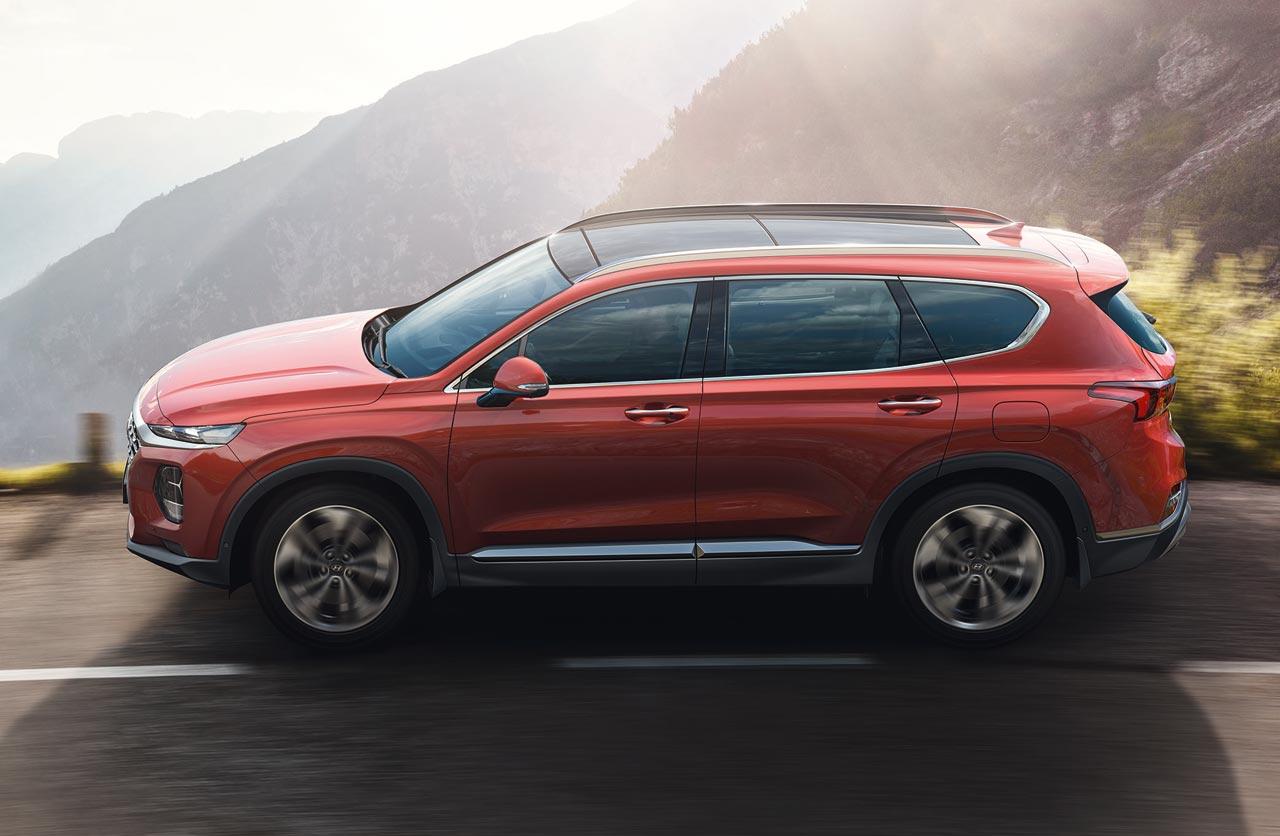 Santa Fe Ford >> Cómo es la nueva Hyundai Santa Fe que llegará en 2019 ...