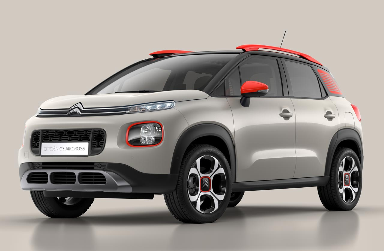 El futuro Citroën C3 Aircross regional, mostrado en Brasil