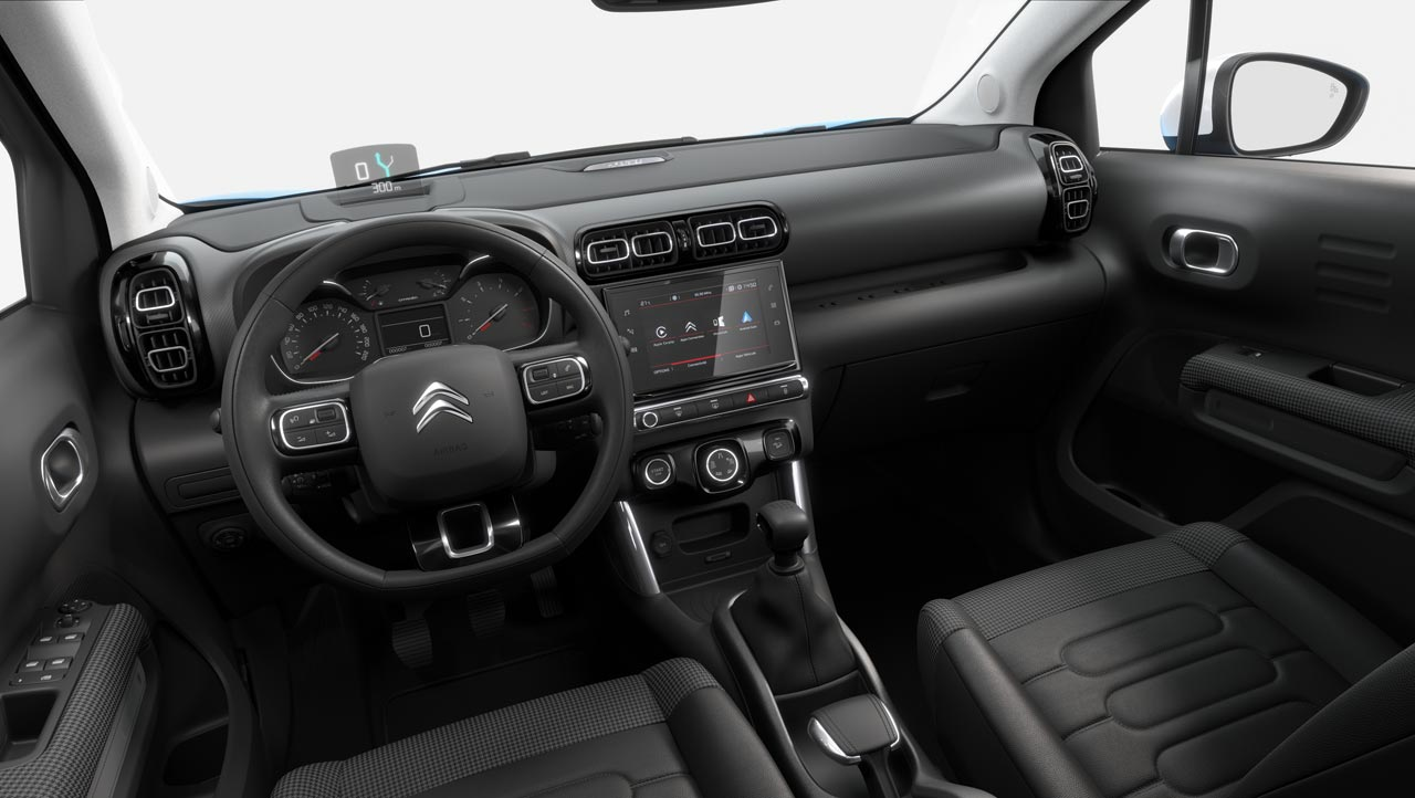 Interior Citroën C3 Aircross