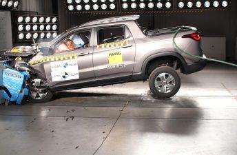 Latin NCAP le otorgó cuatro estrellas a la Fiat Toro