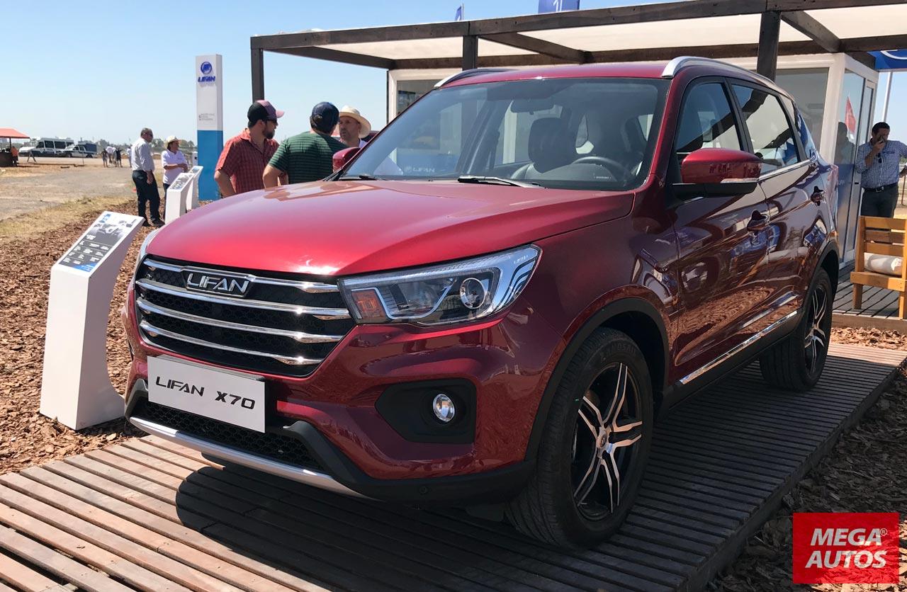 Lifan X70: el nuevo SUV chino, más cerca