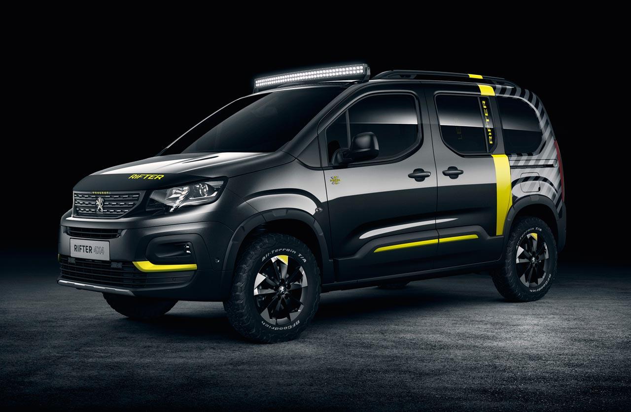 Peugeot Rifter 4×4, la Partner aventurera