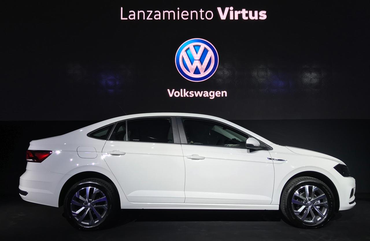 Volkswagen Virtus lanzamiento Argentina