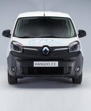 Los eléctricos son una realidad: llegó la Kangoo Z.E.