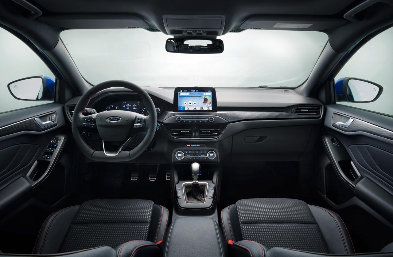 Interior Ford Focus ST Line