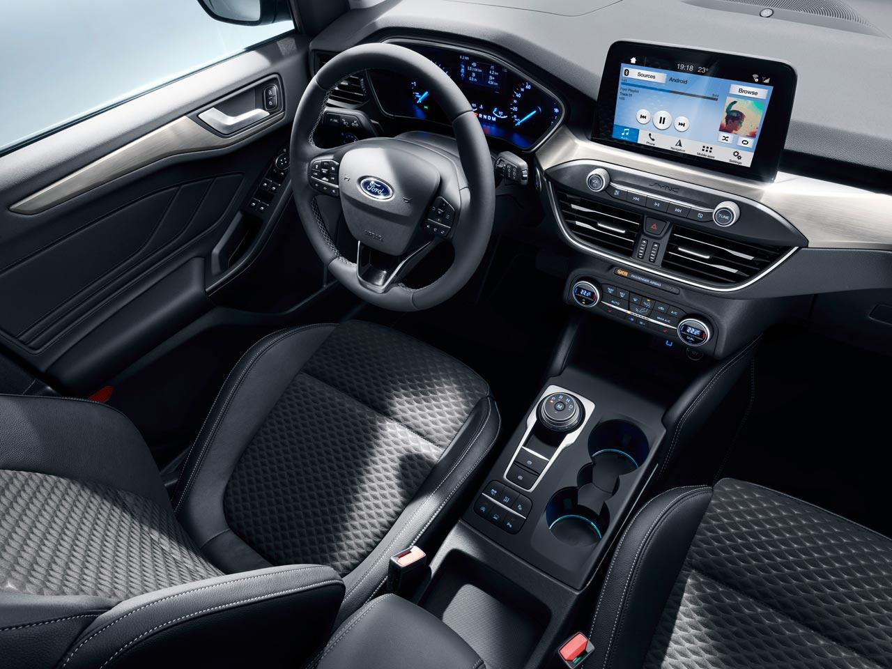 Interior Ford Focus Titanium