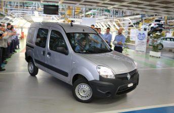 Renault Argentina fabricó el último Kangoo en Santa Isabel