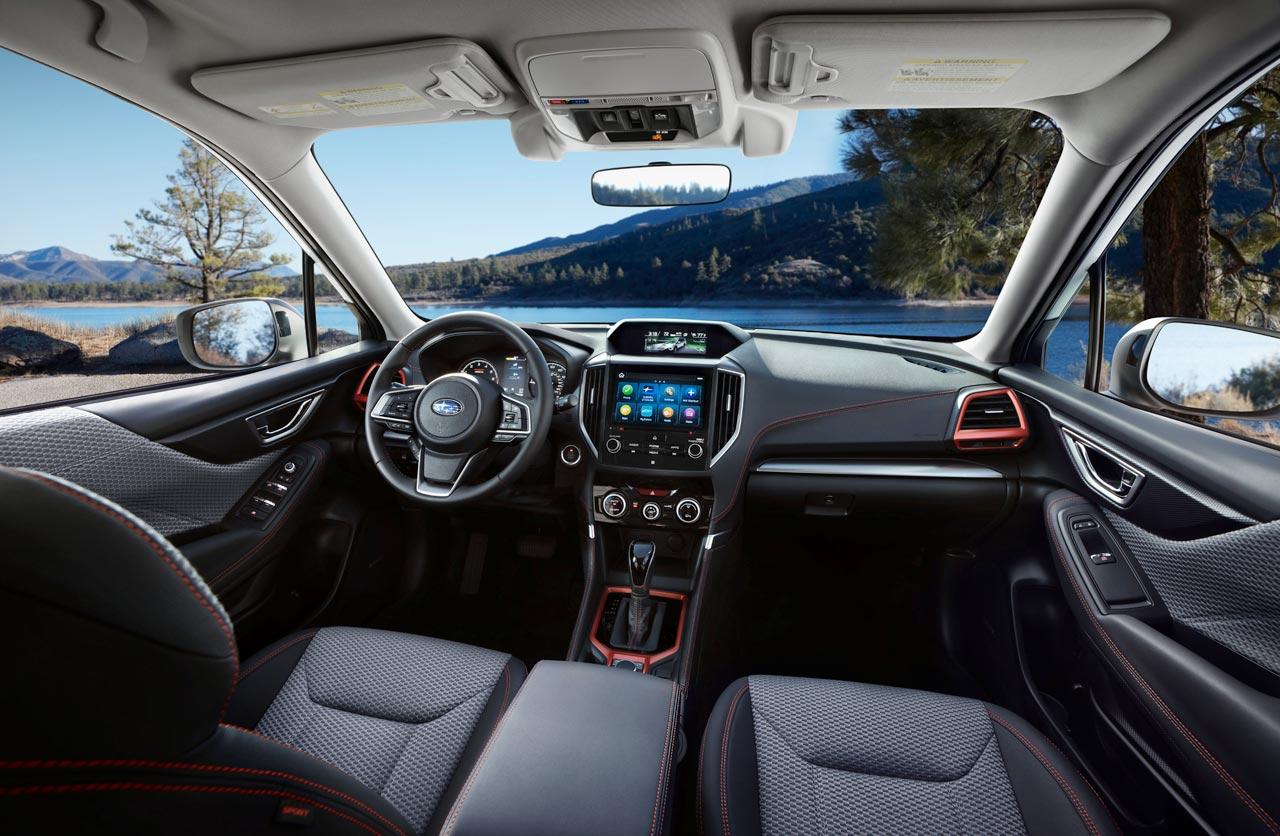 Interior Subaru Forester 2019 Sport