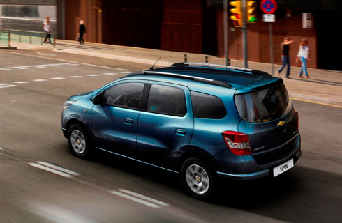 Chevrolet Spin Disel A La Venta En El Pas Mega Autos