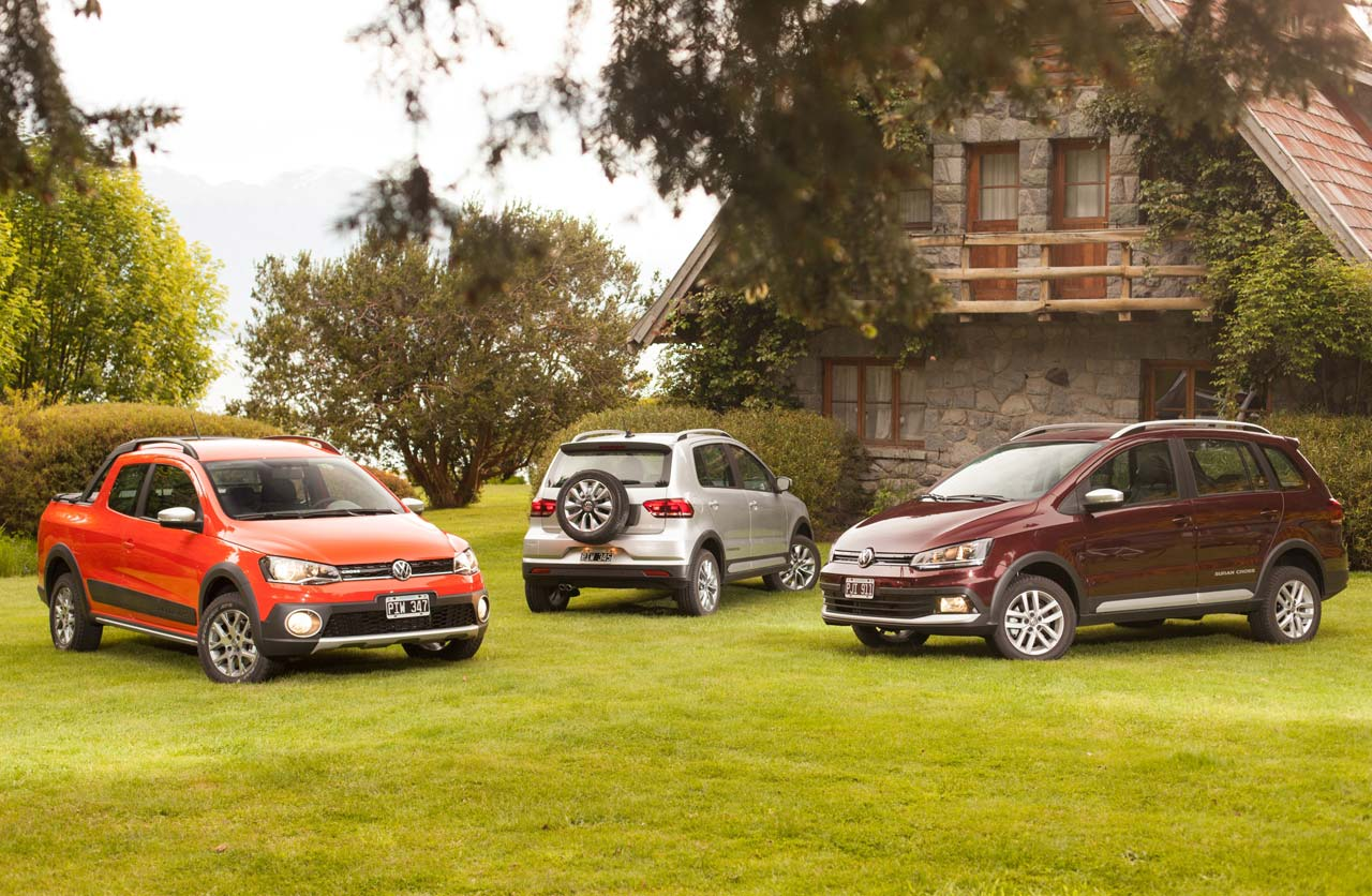 Los modelos Cross de Volkswagen en Argentina