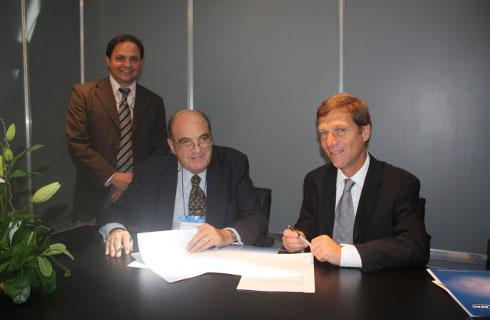 Rodolfo Cribellini, Carlos Angió y Fabio Rozenblum