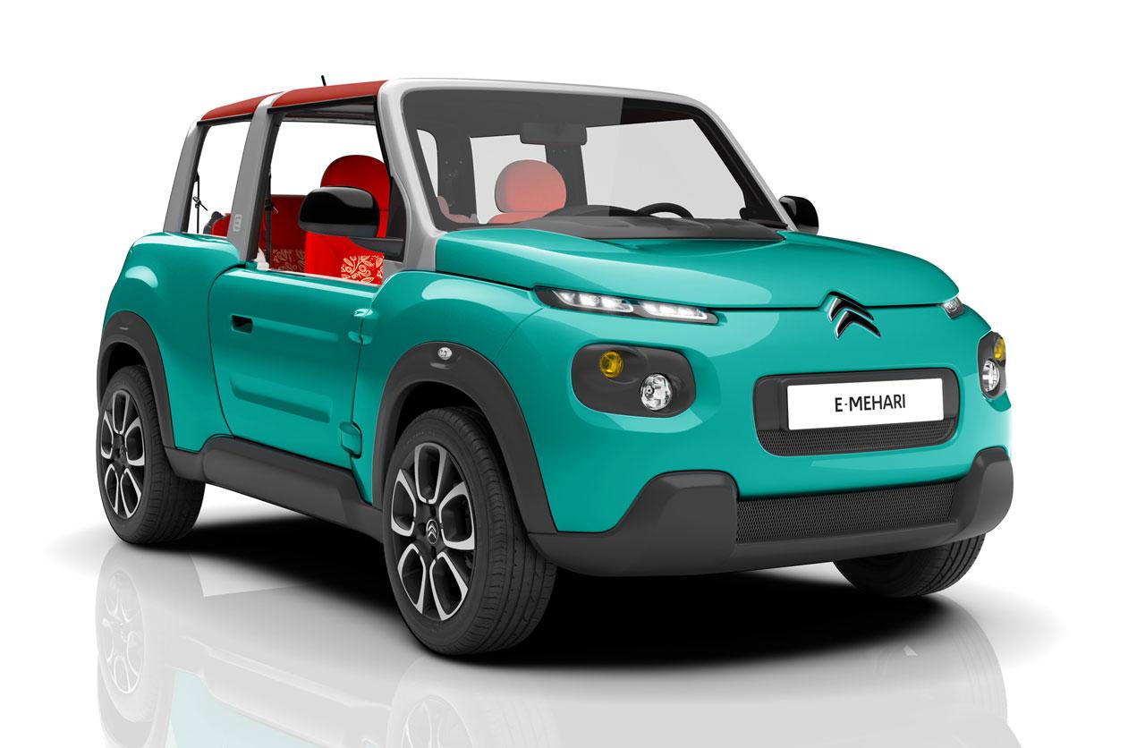 El nuevo Citroën Mehari es eléctrico