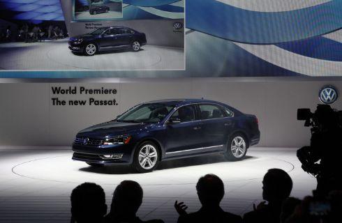 Salón de Detroit: Volkswagen presentó el nuevo Passat