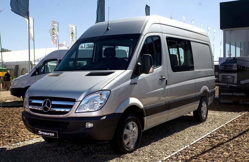 "Mercedes-Benz presentó la Sprinter ""Silver Edition"""