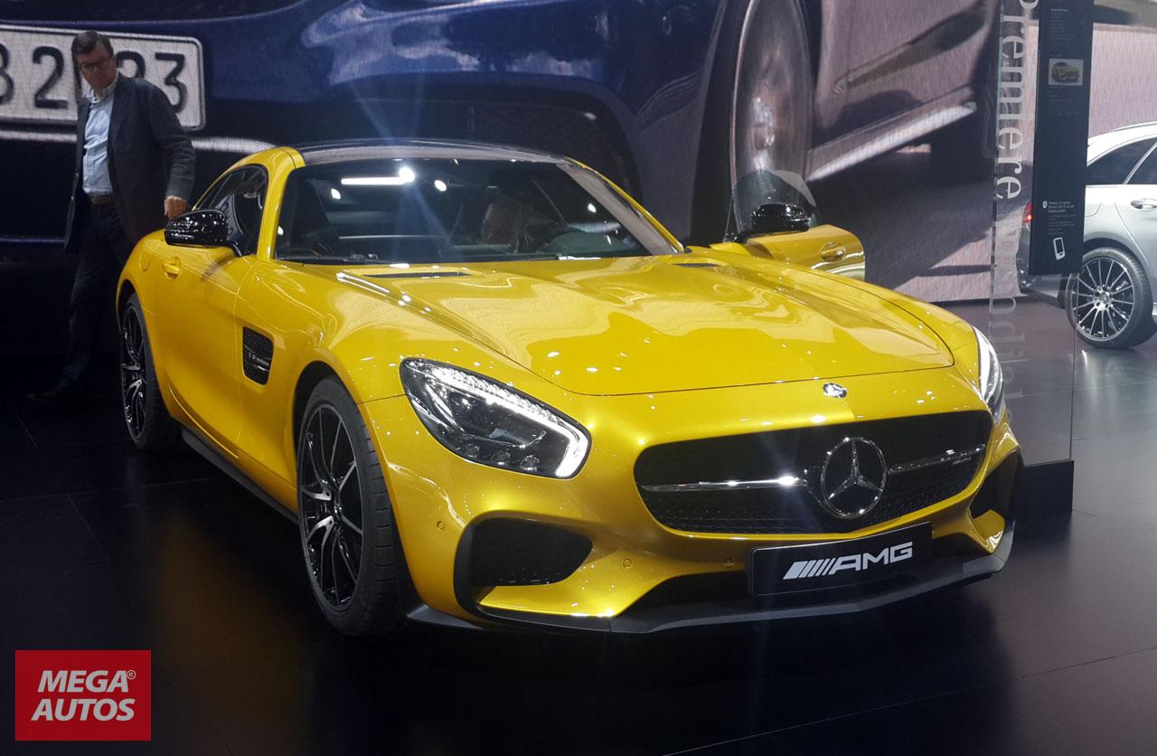 Mercedes-AMG GT en el Salón de París