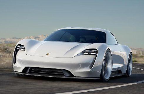 Mission E, el primer eléctrico de Porsche