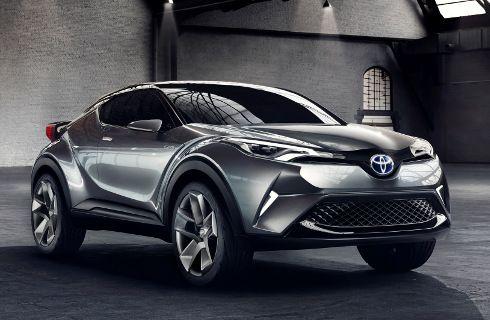 Toyota C-HR: destinado a la producción