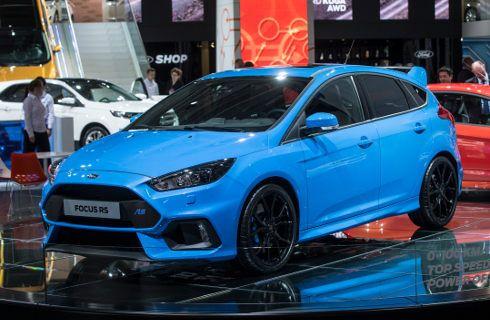Ford Focus RS: 0 a 100 en 4,7 s y 266 km por hora