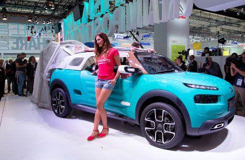 Citroën y DS presentes en el Salón de Frankfurt