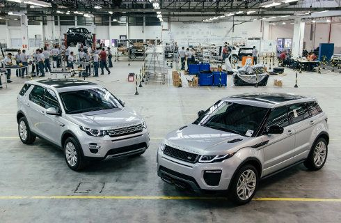Range Rover Evoque: desde 2016 se hará en Brasil
