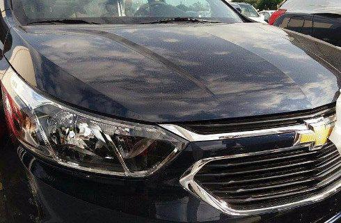 El renovado Chevrolet Cobalt, descubierto en Brasil