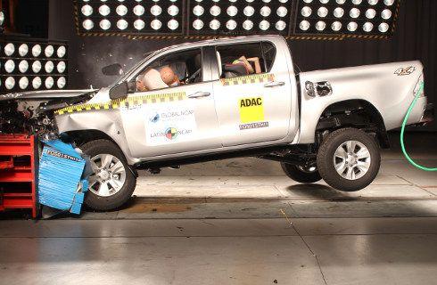 Latin NCAP: 5 estrellas para la Toyota Hilux argentina