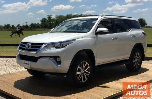 Toyota lanzó la nueva SW4 en Argentina