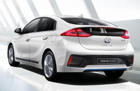 Ioniq, el nuevo híbrido de Hyundai